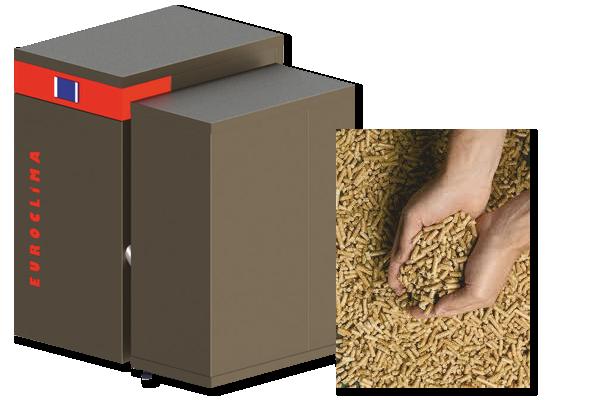 Chaudière à granulés de bois euroclima