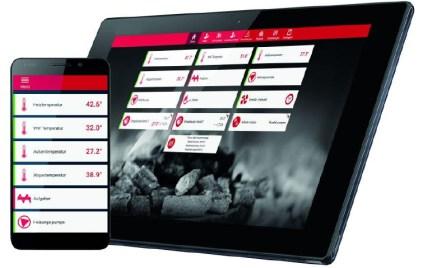 commande à distance pour smartphone ou tablette
