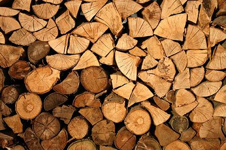 Le bois de chauffe