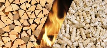 Mixte Bûches et Granulés de Bois